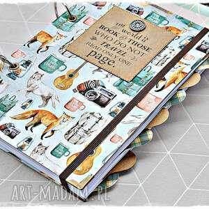 scrapbooking albumy planner podróży, planer podróżnika, planner, planer, podróże