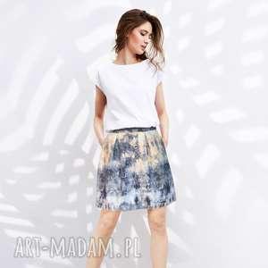 spódnice spódnica chmurka, batik, bombka, kolorowa, krótka, bawełniana