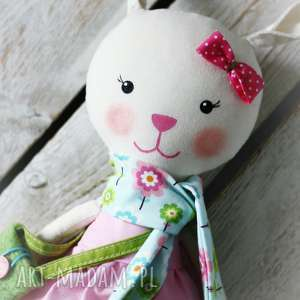 Prezent KRÓLICZKA ANTOSIA, królik, zabawka, przytulanka, prezent, dziewczynka,