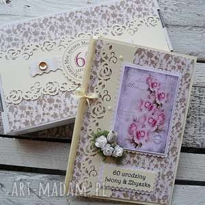 kartka pudełko - kartka, scrapbooking, okazja, urodziny, rocznica
