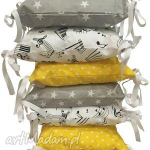 poduchowy ochraniacz lamado 6 częsciowy - ochraniacz, szczebelki, łóżeczko