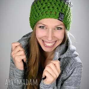 czapki czapka triquence 09 - zielona, na narty, snowboardowa
