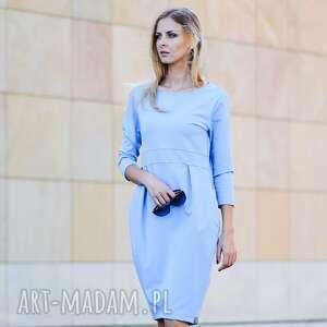 GENTLE sukienka dresowa - sukienka, dresowa, elegancka, klasyka