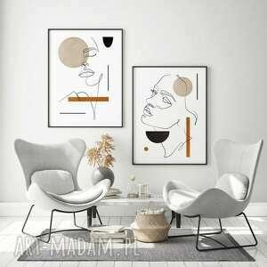 plakaty zestaw 2 plakatów #29 a2 - 42x59 4cm, obraz, plakat, mieszkanie