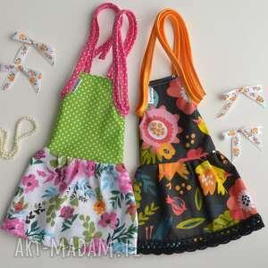 sukienka dla lalki zestaw 2 sztuki anolina - bawełniana sukienka, sukienki