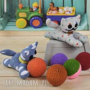 kotek przytulanka - skarpeciak - dziecko, kotek, przytulanka, zabawka, skarpetka, prezent