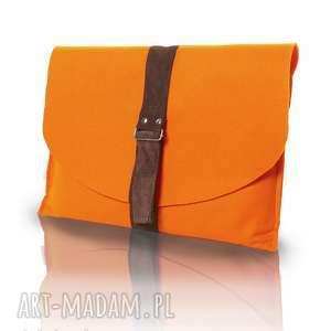 mana otulacz - zamówienie indywidualne, modne, na laptopa, eko skóra