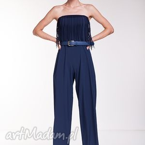 handmade spodnie kombinezon araceli