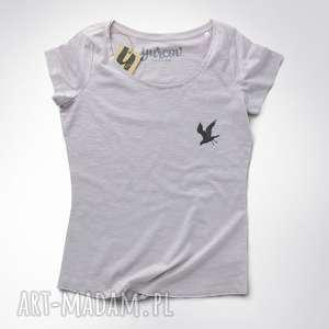 mini KRUK koszulka damska, tshirt, raven, crow