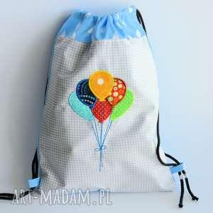 worek plecak z balonikami - worek, plecak, balonik, dziecko, wf, przedszkole