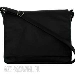 498855f1941fc ... 35-0008 czarna torebka aktówka damska do szkoły i na studia robin,  torebki kstóki