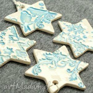 handmade upominek na święta śnieżynki