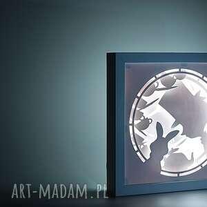 dekoracje lightbox tea time - podświetlana dekoracja, lightbox, lampka, dekoracja