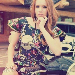 hand made sukienki sukienka folk design aneta larysa knap góralska