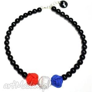 Q-lki No 10, modny, nowoczesny, naszyjnik, korale, perły, kulki