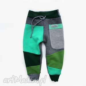 patch pants - eco dresik dziecięcy / miętusy, spodnie, dresowe, dziecko, niemowlę