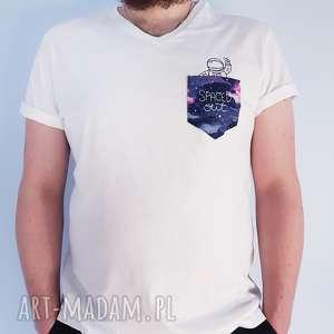 t-shirt spaced out L - ,koszulka,kosmos,astronauta,t-shirt,kieszonka,haft,