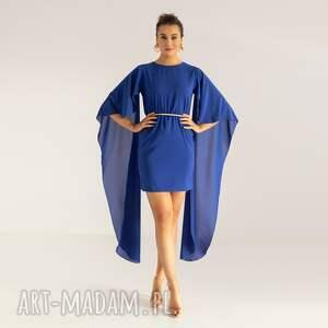 sukienka 20/ss/2021, chabrowa, wesele, imprezowa, designerska, zwiewna, letnia