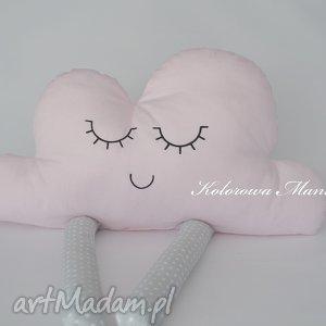 Poduszka Chmurka z nóżkami, poduszka dekoracyjna, poduszka, chmurka, dekoracyjna