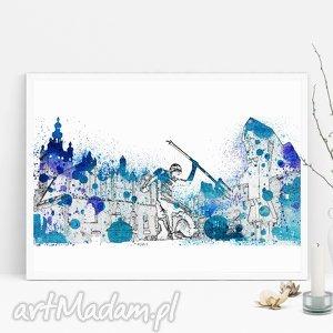 plakat gdańsk a3, gdańsk, plakat, trójmiasto, świąteczny prezent
