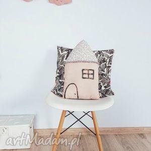poduszka dekoracyjna skandynawski domek, skandynawski, poduszka, podusia