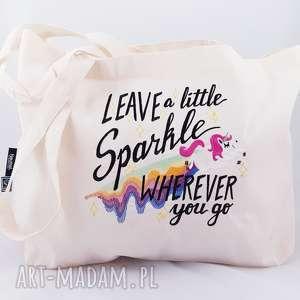 eko torba zakupowa, torba, siatka, jednorożec, unicorn, tęcza na zakupy