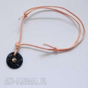 święta prezent, bransoletki okrąg bransoletka, srebro, swarovski, sznurek
