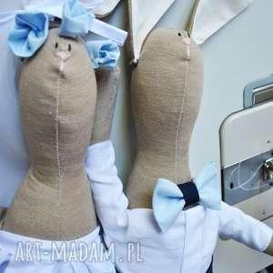 prezent dla pary młodej na ślub lalki szmaciane, prezent, ślub, wesele, para