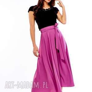 handmade spódnice spódnica długa rozkloszowana grace