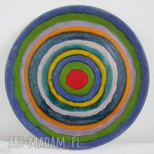 patera ceramiczna pełna kolorów