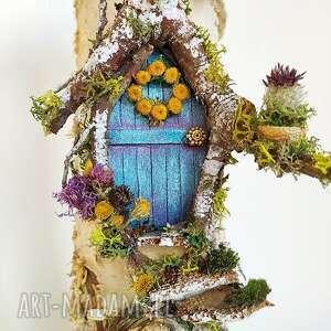 wieszak na klucze w stylu holenderskim die magische türchen - dekoracja ścienna