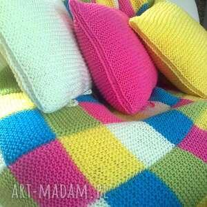 poduszki kolorowy zawrót głowy poduchy, poduszki, dekoracja