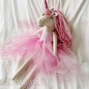 ręcznie robione zabawki jednorożec baletnica