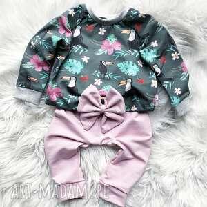 Bluza i spodnie dresowe tukan slow village dres dla dziecka