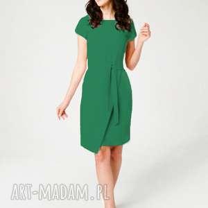 handmade sukienki sukienka koperowa silena szmaragdowa