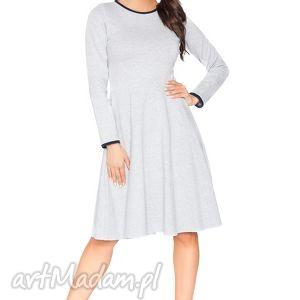 sukienki rozkloszowana sukienka f_4 - rawear, sportowa, dresowa, wygodna, midi