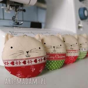 kocie bombki - ,kot,kocie,bombki,zawieszki,ozdoby,świąteczne,