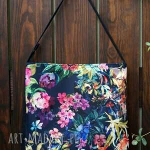 ręcznie robione na ramię kwiatowa torba