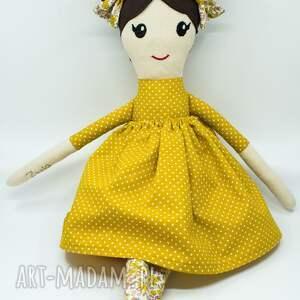 szmaciana lalka, lala, przytulanka dla dziewczynki, lalka handmade, lala