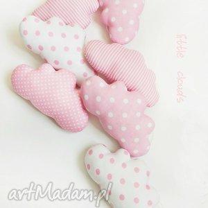 CHMURKI - girlanda do dziecięcego pokoiku, chmurka, chmurki, girlanda, pink