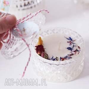 świeca sojowa w szkle no 3, świeczka, dla niej, świeca, prezent mamy