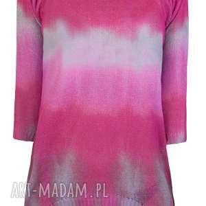 unikalny prezent, letni sweterek s/m,l/xl, ombre, bluzka, drukowana, print, nadruk