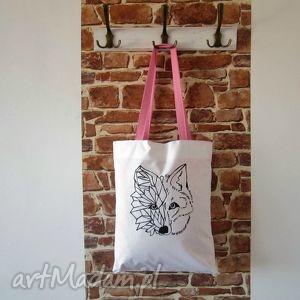 bawełniana ekotorba z ręcznie wykonaną grafiką, ekotorba, eko, torba, worek, xxl