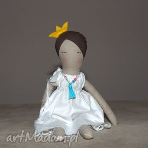 Prezent Śpiąca Królewna - lalka lniana , lalka, lniana, szmaciana, prezent