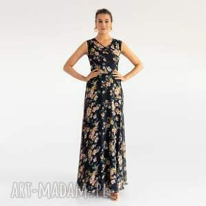 sukienka 23/ss/2021, letnia, kolorowa, łączka, kwiatki, zwiewna, wesele, prezent