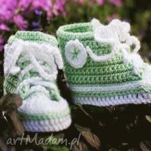 hand-made buciki trampki, dla dziecka