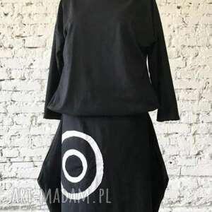 Black i black-sukienka sukienki ququ design oryginalna sukienka