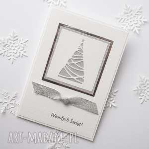 Pomysł na prezent pod choinkę. Kartka świąteczna - glam 6