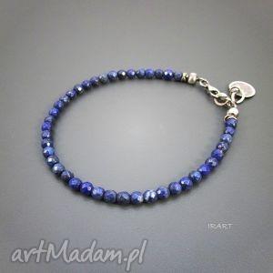 ręczne wykonanie delikatne kuleczki lapis lazuli