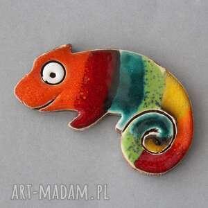 Kameleon-magnes ceramika magnesy kopalnia ciepla minimalizm